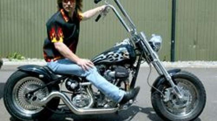 Charlie Manson Motorcycle