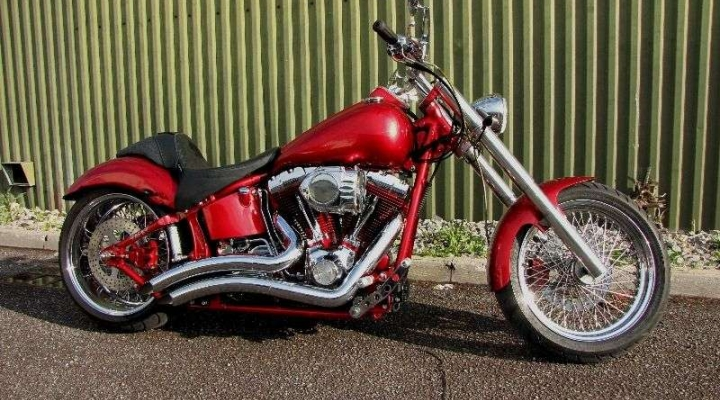 Big Red Softail