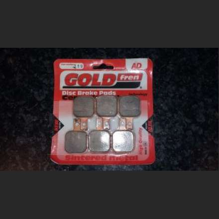 GOLDfren Disc Pads 119 For Harrison Billet Mini 6