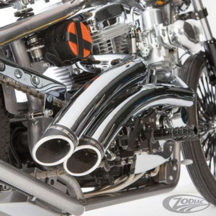 Quiet baffles For Indian Scout curved