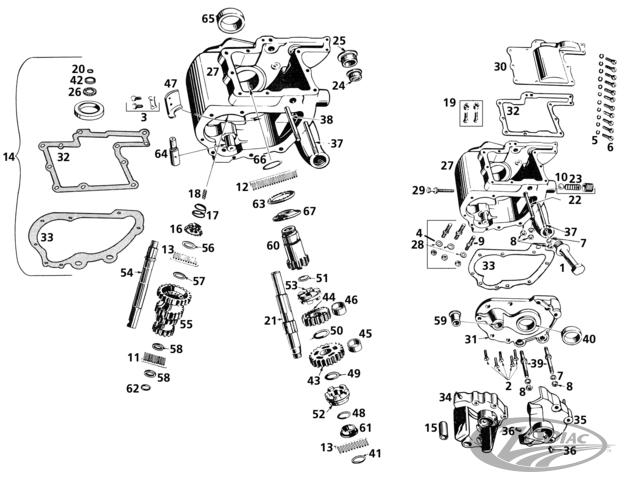 harley 45 transmission schematic schematics wiring diagrams u2022 rh orwellvets co harley davidson electrical schematics harley davidson golf cart schematics