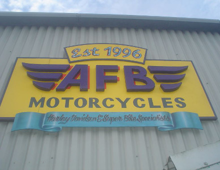 afb shop sign